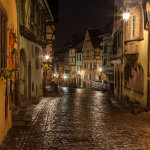 Night in Riquewihr