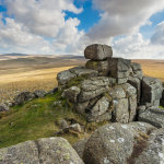Spring afternoon on West Mill Tor
