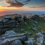 Sunset at West Mill Tor