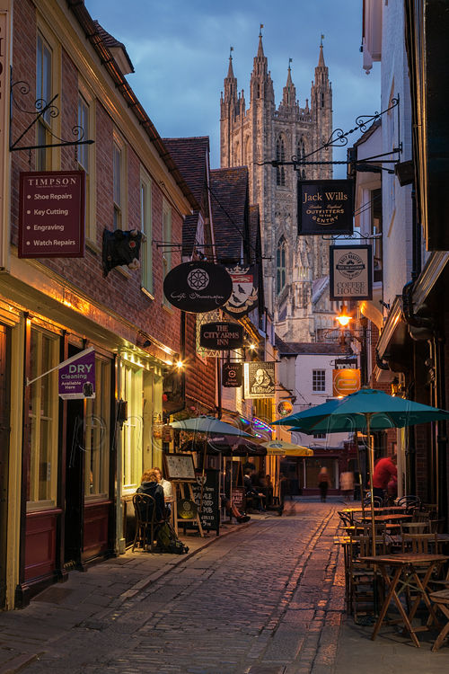 Evening in Canterbury