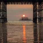 Sunset in Brighton