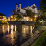 Evening at Aarburg