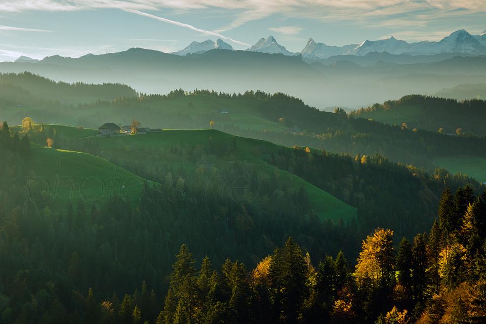Autumn morning in Emmental