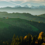 Autumn morning in Emmental