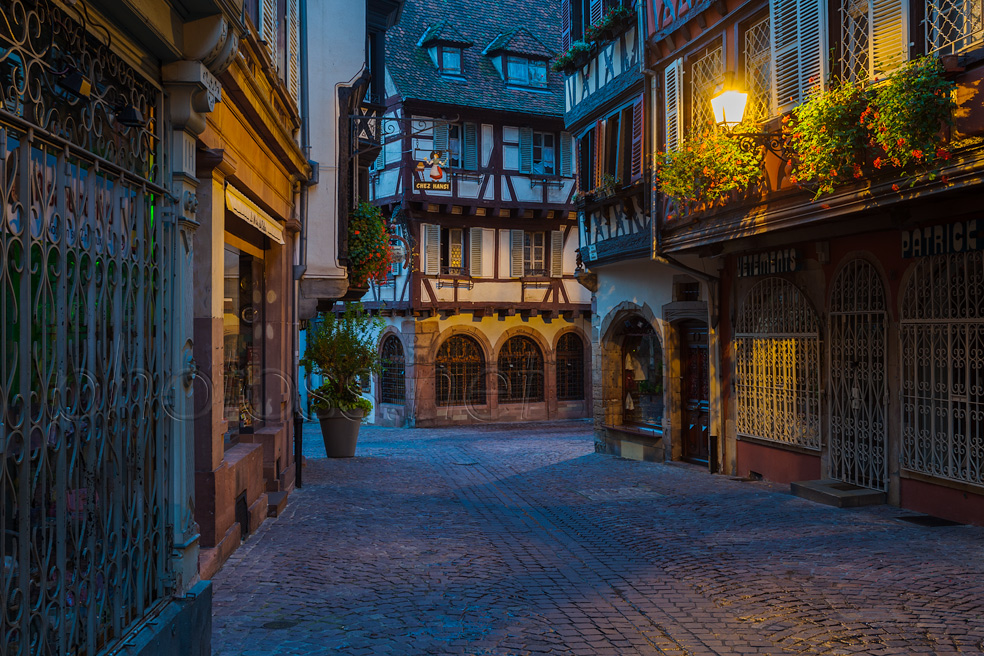 Dawn in Colmar