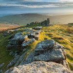 May evening on Hookney Tor
