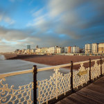 Winter afternoon in Brighton