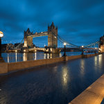 London before dawn