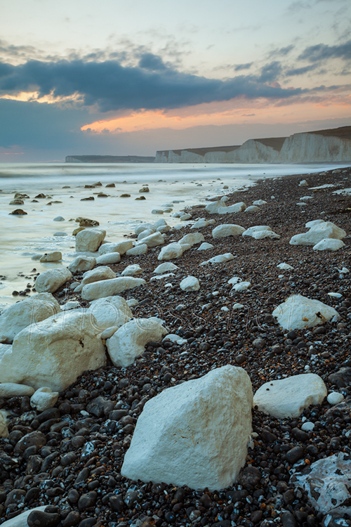 Evening at Birling Gap