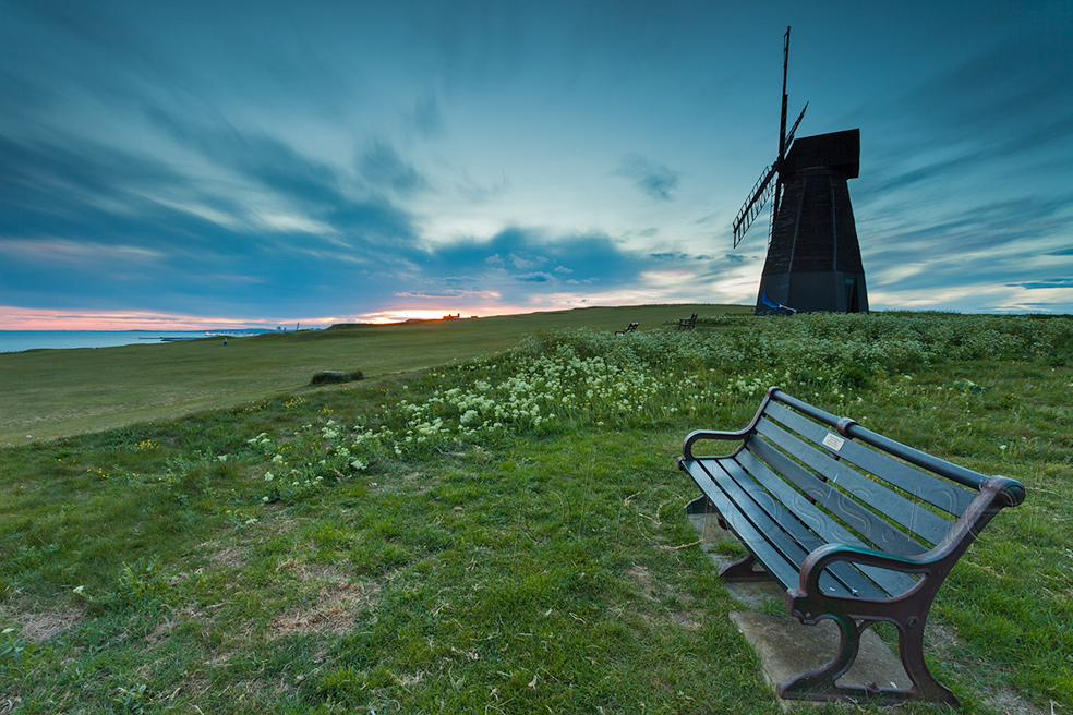 Sunset at Rottingdean Windmill