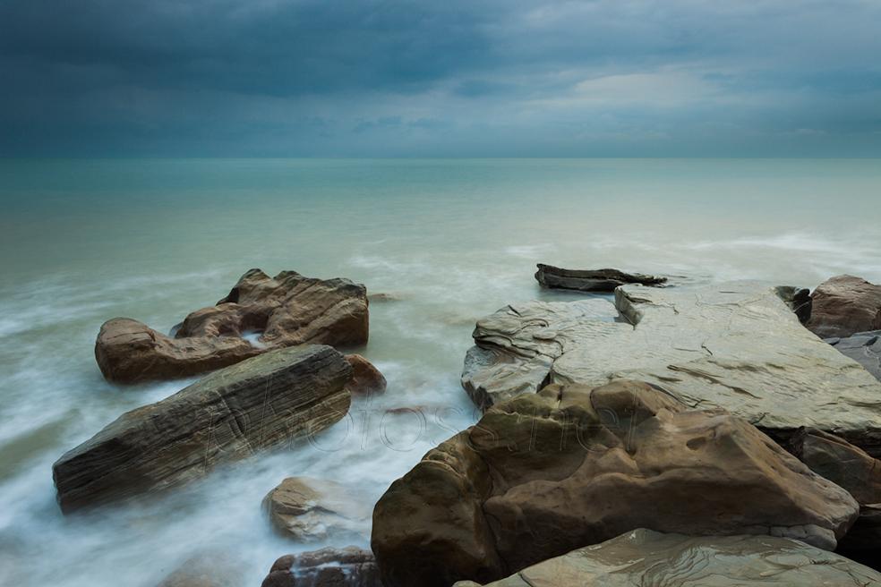 Covehurst Bay beach in East Sussex