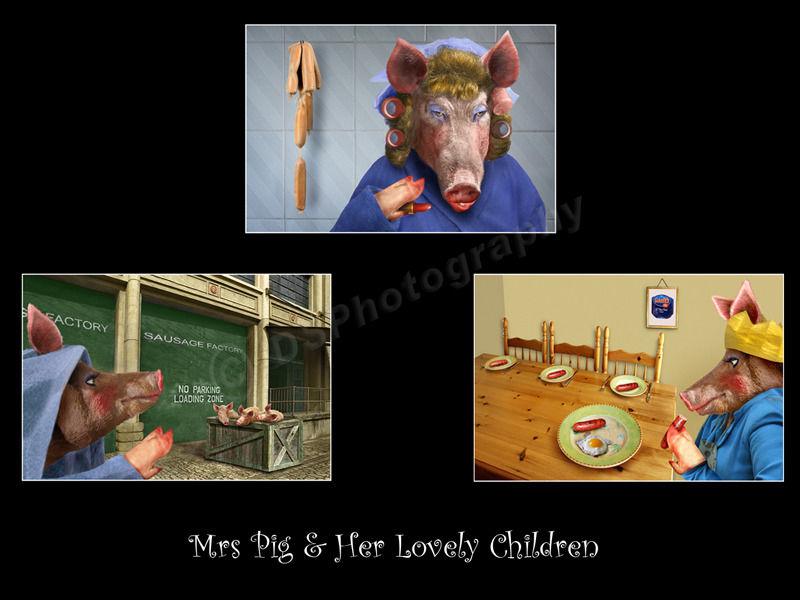 Mrs Pig and Her Lovely Children
