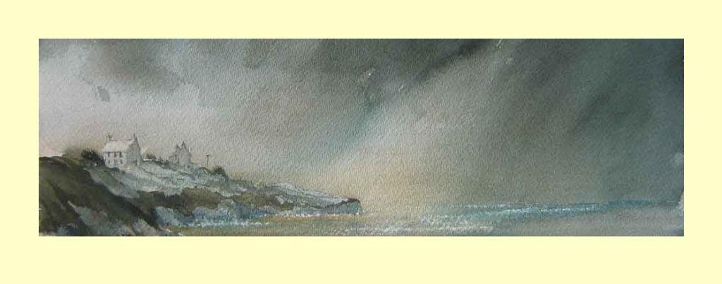 111 Storm Approaching. 38 x 12.5cm £135