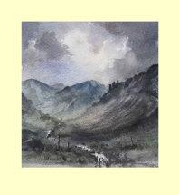 174 Mountain Stream 165 x 175 £95