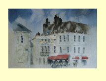 188 Chimneys in Avallon, France 30 x23cm £215