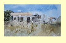 202 Long Grasses at Magrinac - Charante 34 x19cm £195