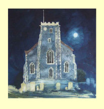 217 St Mary the Virgin Church, Stone, Kent. 35 x 35cm    £330m £350