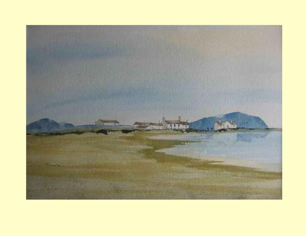 220 Lonely Cumbrian Coast 48.5 x 33cm £490