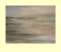 229 Dawn Across Bridlington Bay. 36 x 26.5cm  £235m  £270
