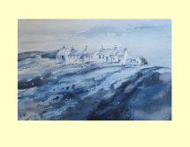 234 North West Scotland - A Study in Blue 35 x 23.5cm NFS