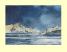 239 Bright Mountain 34.5 x 25.5cm £310