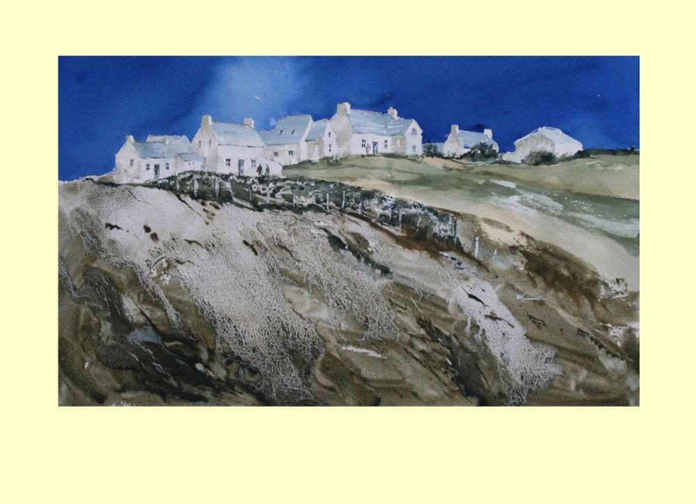 271 Brittany Skyline 53.5 x 31.5cm £590