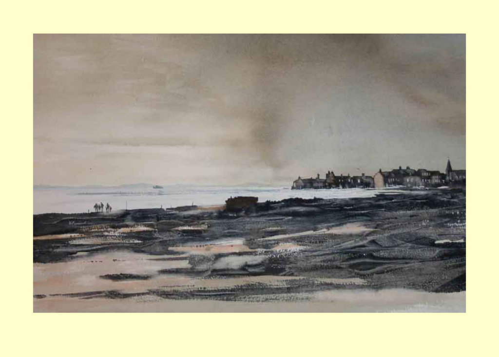 272 Seaweed on the foreshore 53 x 33.5cm NFS