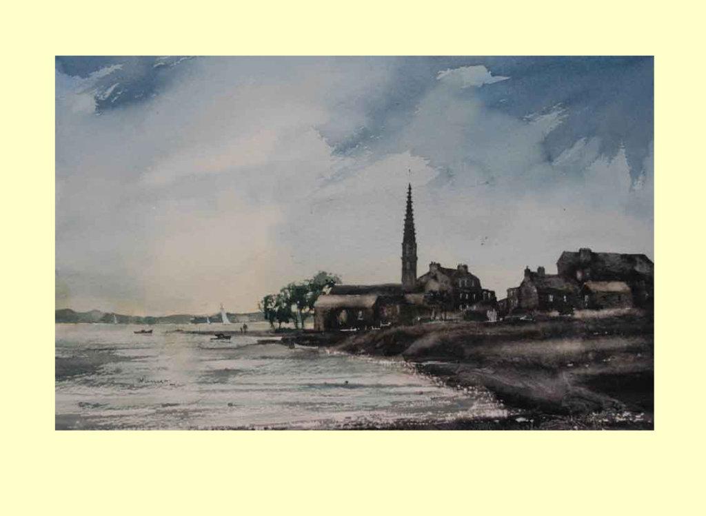 275 Brittany Coast 36 x 22.5cm £210