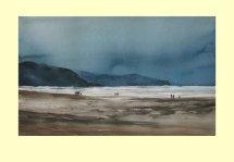 288 Barmouth - A windy autumn day 51 x 33cm £590