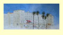294 Mediterranean Promenade 26 x 12cm £95