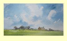 301 Early Spring in Lincolnshire 36 x 19.5cm £190