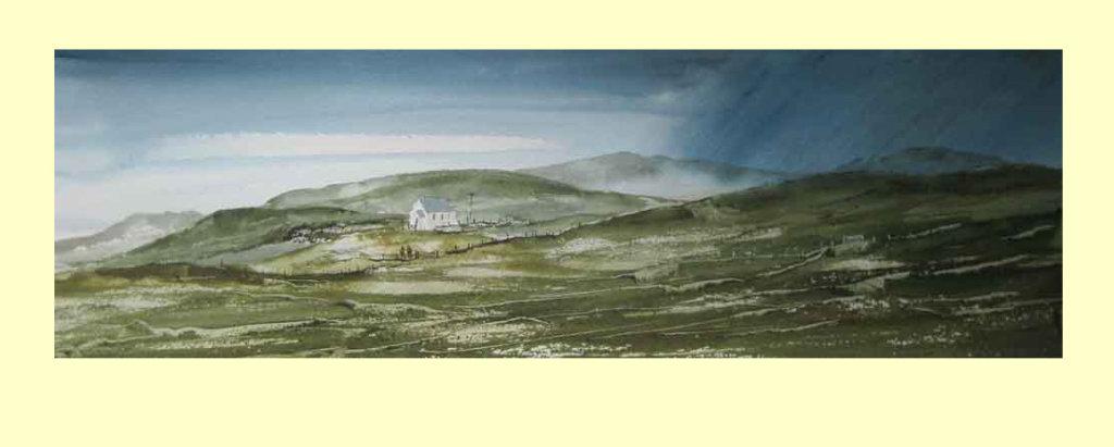 305 Pennine Landscape 49 x 15cm £220