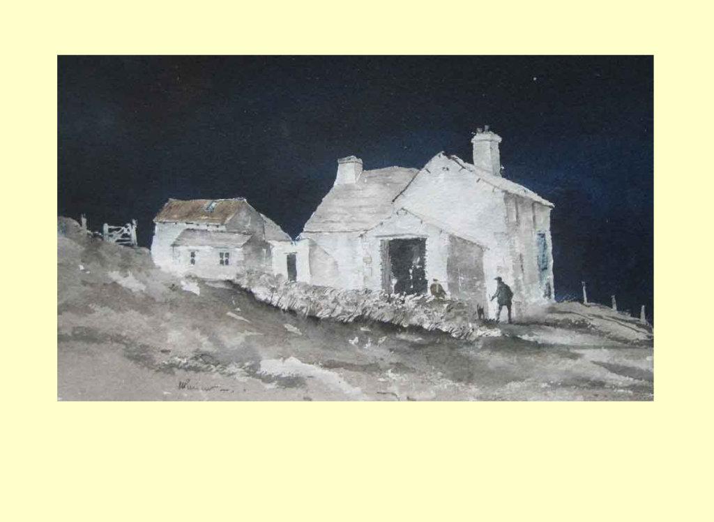 306 Abandoned Pennine Farm 33 x 20 £260