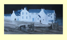 307 White Buildings - Kirkcudbright 35 x 18cm £190