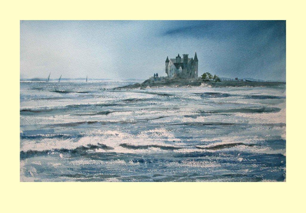 326 Côtes Sauvage, Quiberon - Sea Textures 53 x 36cm £630