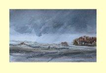 335 Autumn, Rain & Wind 36 x 22cm £270