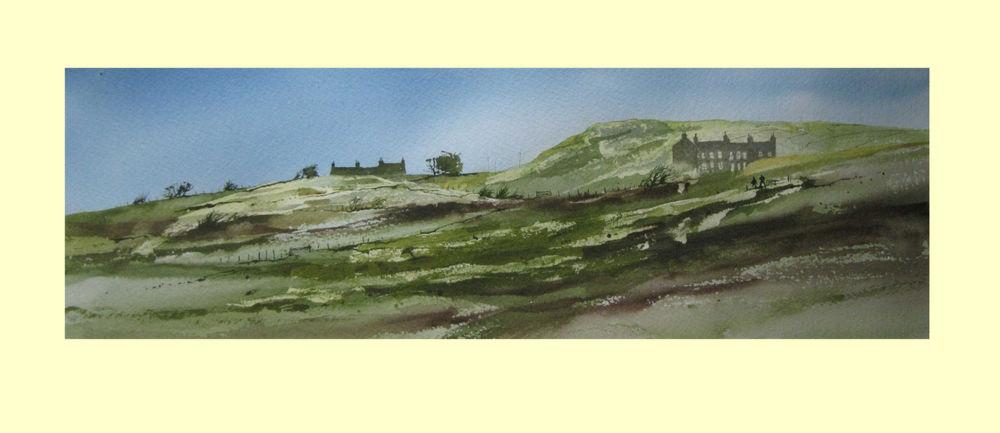 373 Welsh Landscape 51 x 16cm £340