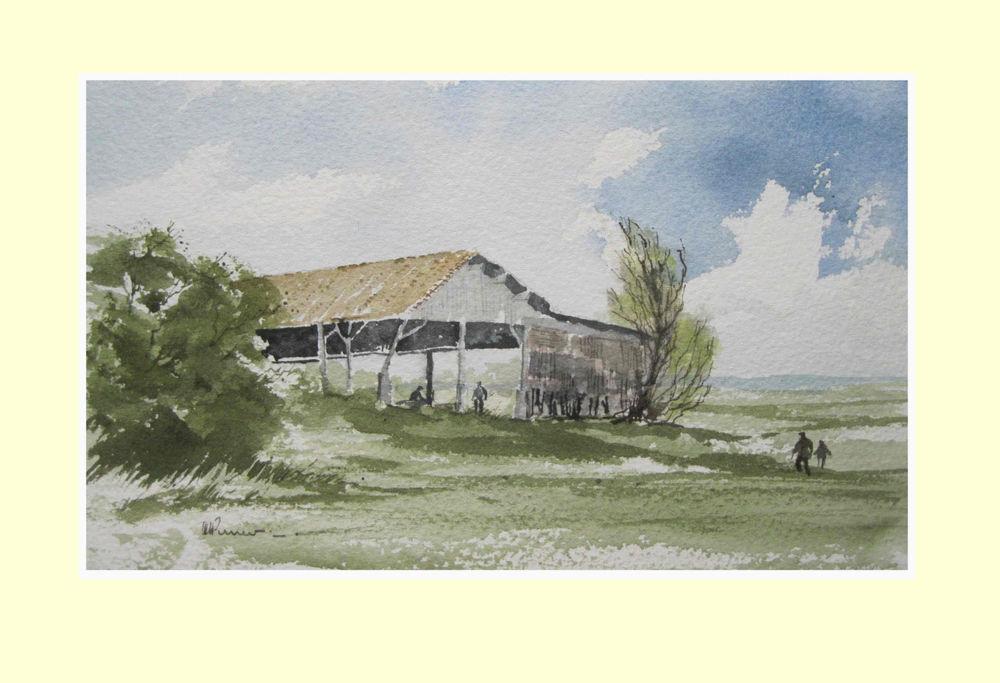 382 The Barn - Domaine de Fumel 23.5 x 14cm NFS