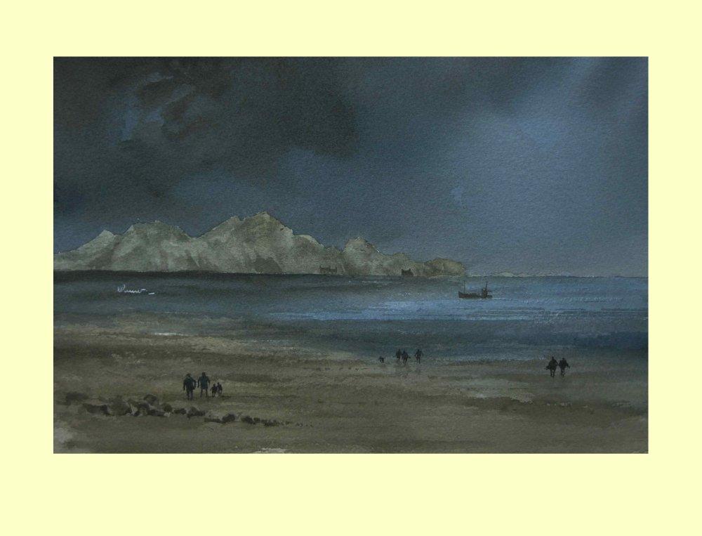 372 Welsh Coast After the Storm 36.5 x 24cm £295