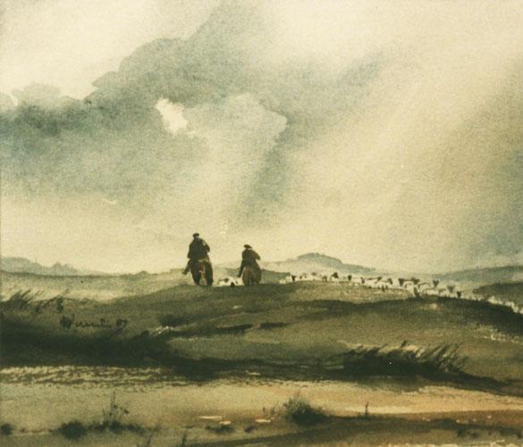 40 Exmoor - Mounted Shepherds
