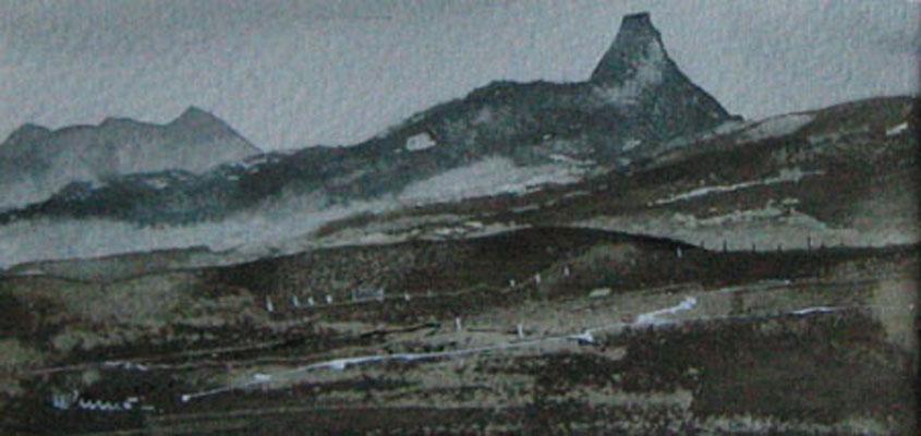 46b Northwest Highlands, Scotland. 17 x 8cm