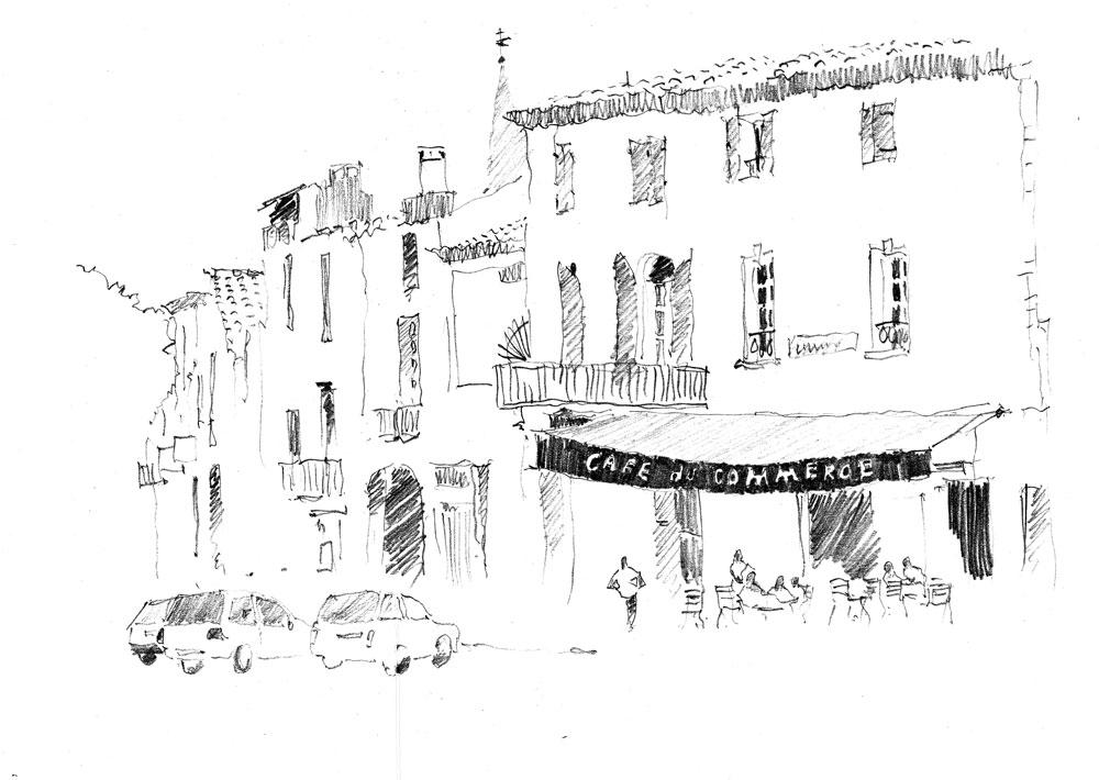 Café du Commerce. Sketchbook 70 [40]