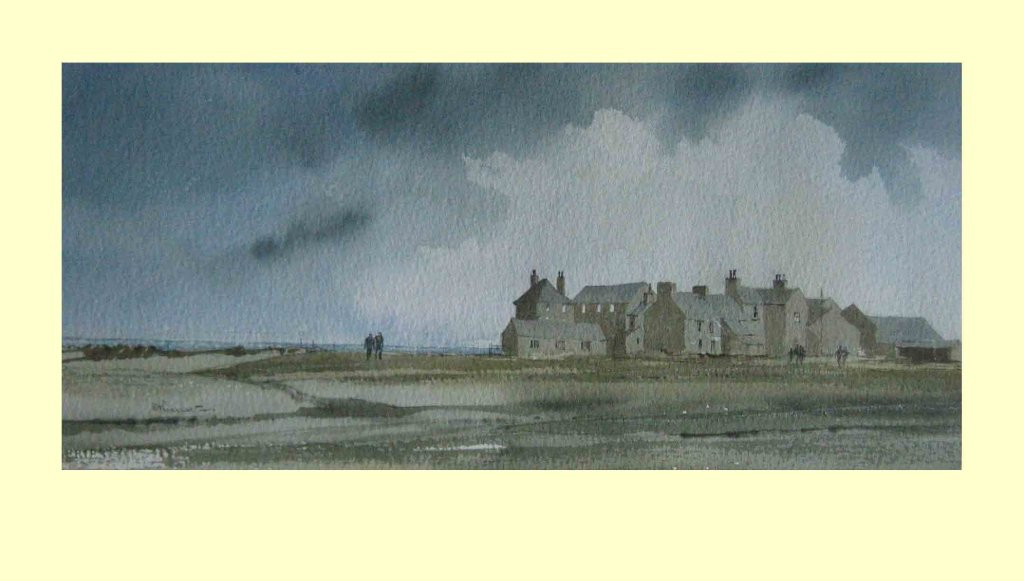 72 The Solway Coast, Allenby, Cumbria. 33.5 x 16.5cm £180