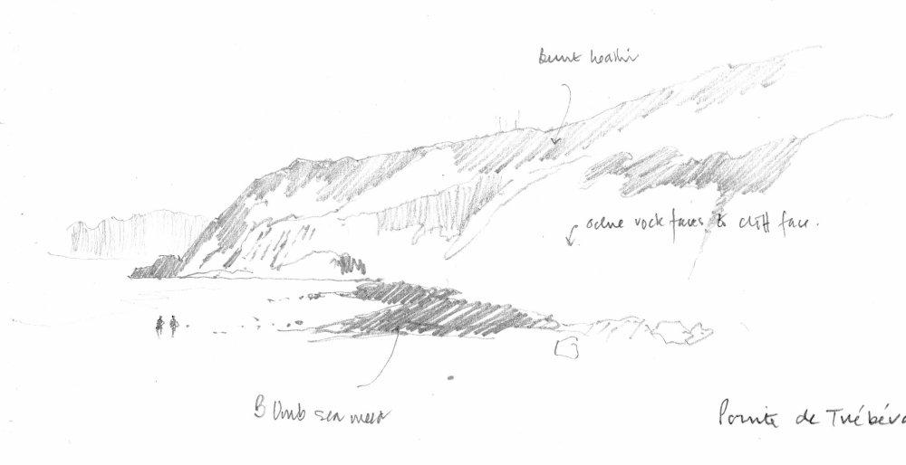Pointe de Trébéron. Sketchbook 82 [16]