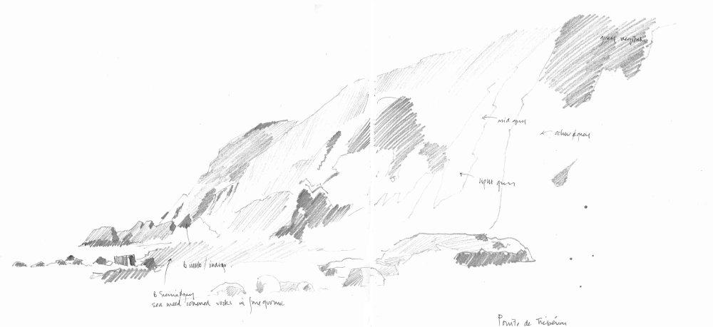 Pointe de Trébéron. Sketchbook 82 [52]