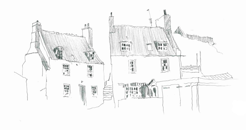 St Abbs, Scotland. Sketchbook 94 [75]