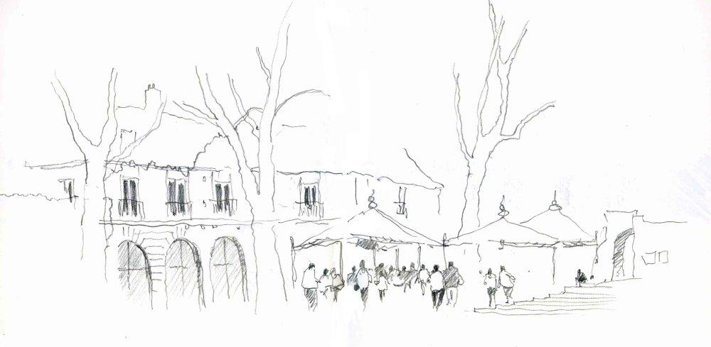 Blois, France.  Sketchbook 85 [72]
