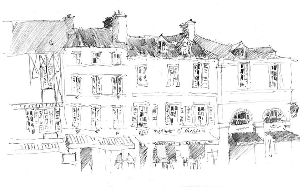 Pau, France. Sketchbook 90 [12]