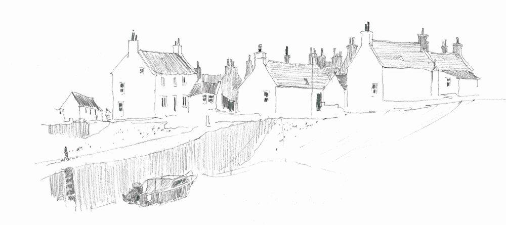 Sandend, North West Scotland. Sketchook94 [25]