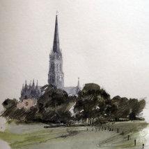 Salisbury Cathedral. Sketchbook 21 [62]